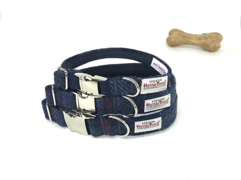 Made to adjust. Secured by a metal side release clasp. Includes a welded D ring (for added strength) for attaching lead and name tag. Lined with cotton tape for strength and comfort. 3 lengths & 3 widths to choose from.