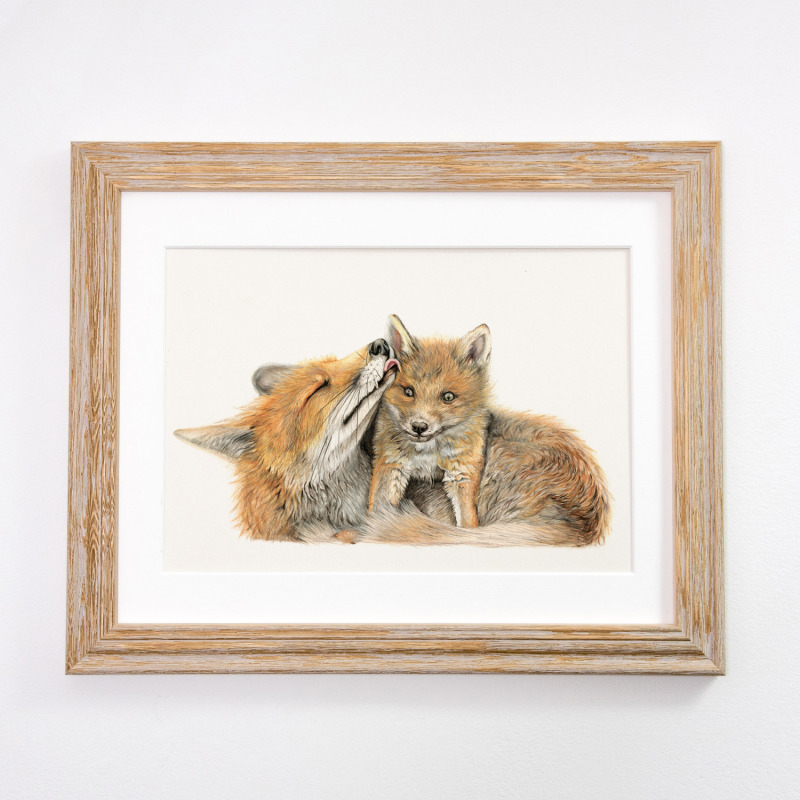 Limited Edition Print; available in two sizes, framed or just mounted
