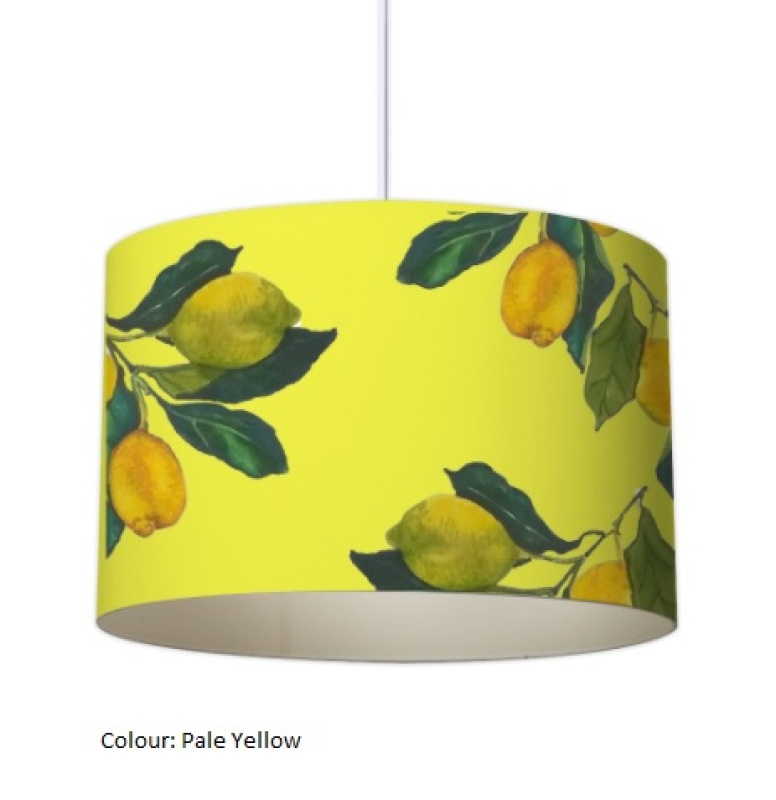 Created in Italy on the coast amongst a Lemon Grove; this design was originally hand painted. Available in 20, 30 and 40 cm (other sizes available) and in a variety of colours. This design has been featured in Magazines internationally and nationally