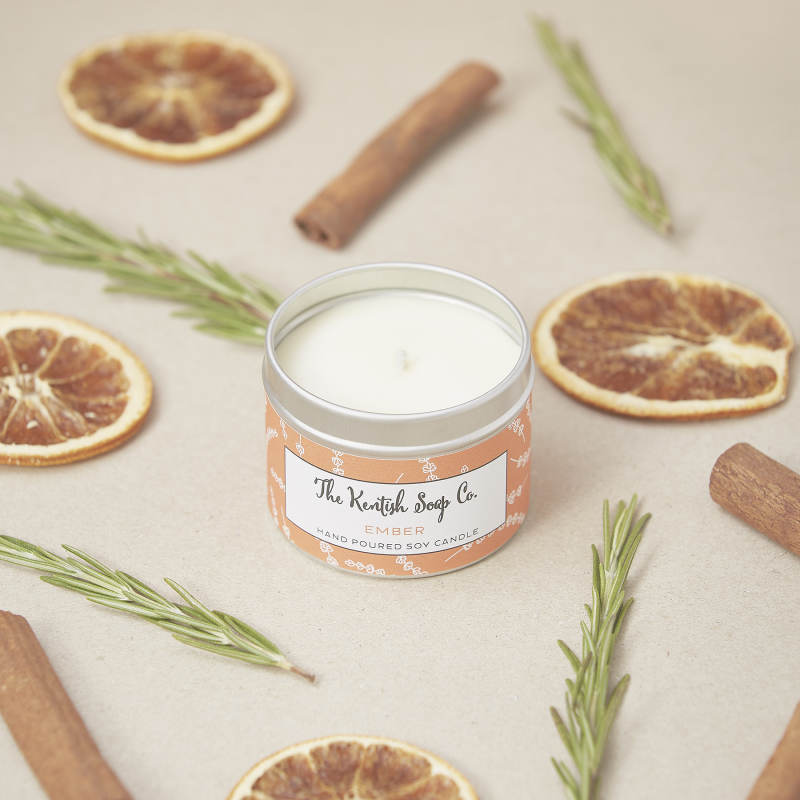 Coming in 7 fragrances & made with essential oils, our candles are lovingly hand poured. The soy wax we use is manufactured within the European Union. It has strong environmental credentials being sustainably sourced and free from any other additives