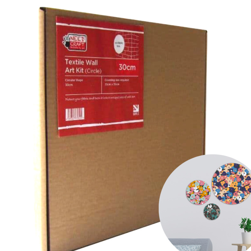 These astonishingly simple but effective kits allow people to turn their favourite fabric designs into unique and beautiful pieces of wall-art within minutes.  Take a look at our video and see how easy they are to use.