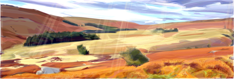 One of four prints in the new 'Bright Horizons' collection. Available in 2 sizes. Cards also available.
