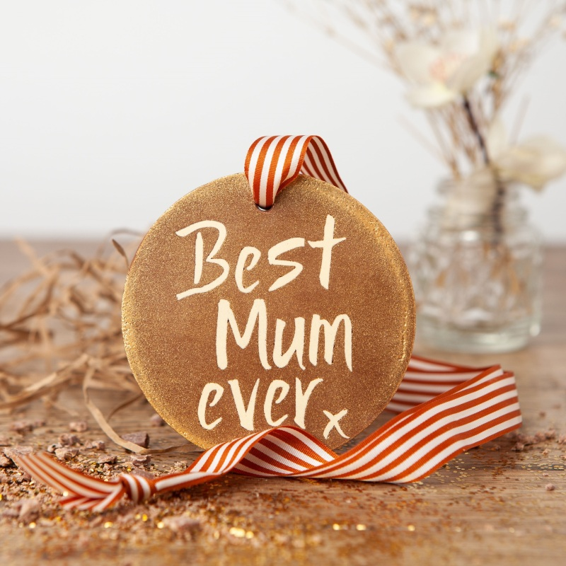 Our sparkly and scrumptious 'Best Mum Ever' chocolate gold medals make a great gift for Mum on her birthday or as a special treat. Wholesale price:  £3.30 (RRP £7.95)