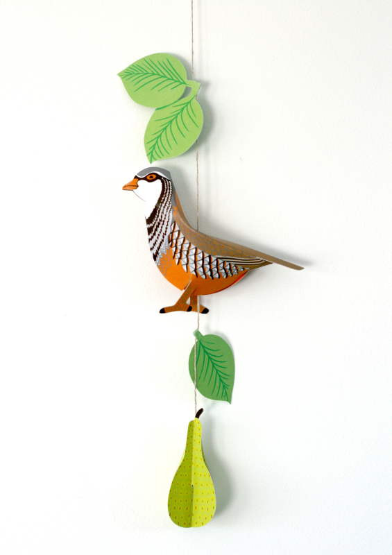 Decoration/card - the perfect gift for Christmas